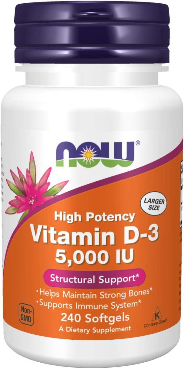 Vitamin D-3 5,000 IU…