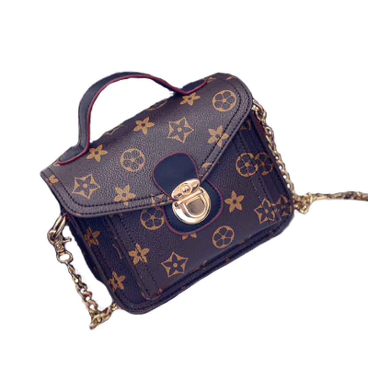 Red, 17 /× 7 /× 14cm einfache kette handtaschen umh/ängetasche mini alte blume hand schultertasche kleine quadratische tasche