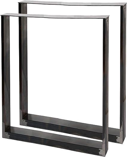 Bastidores para mesa 60x72 cm Acero lacado claro Caballetes para ...