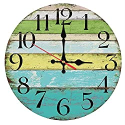 Shuangklei Wall Clock Home Decoration Living Room Quartz Watches Wall Sticker Modern Still Life Antique Style Clocks