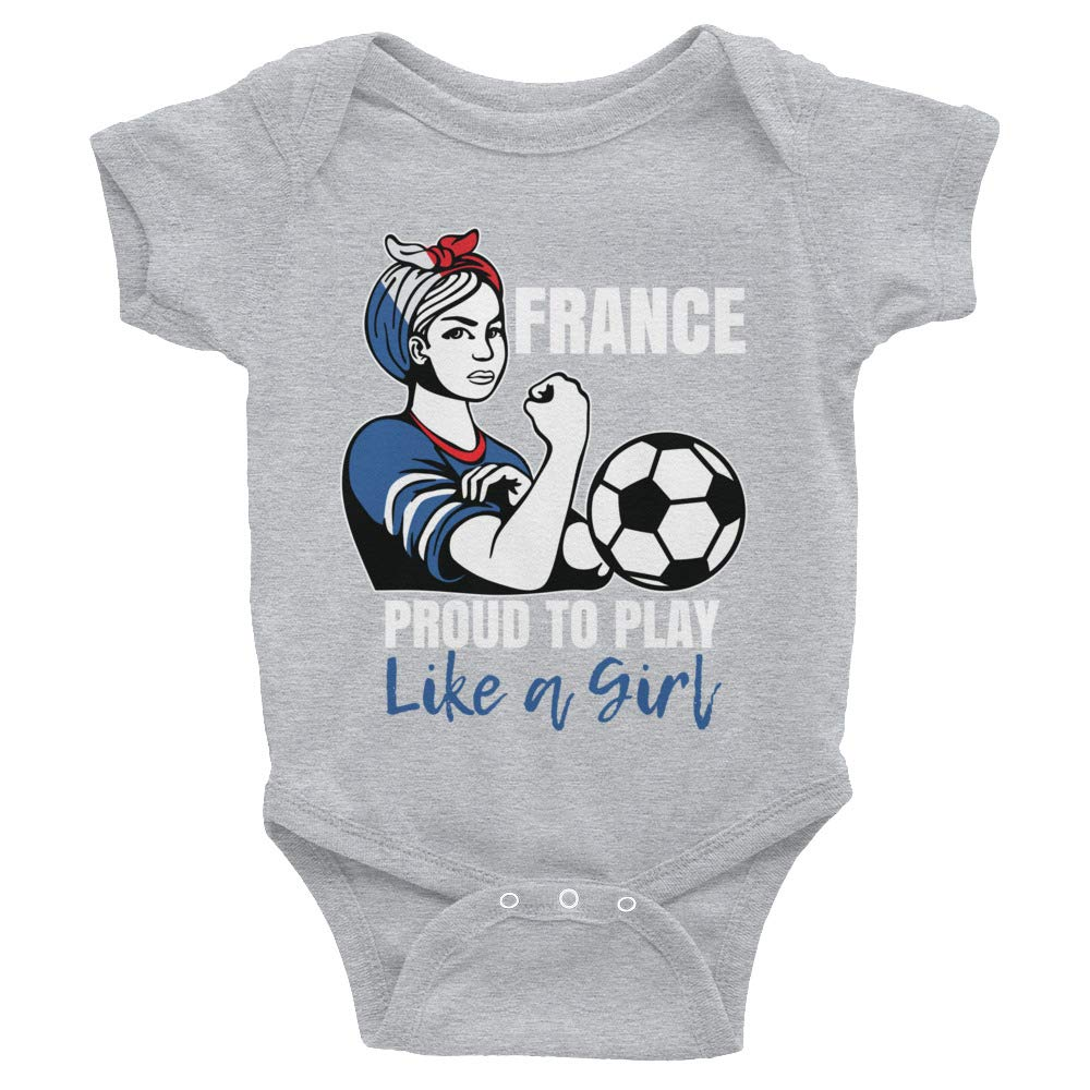Infant Bodysuit Amazingly Good Products France Womens Soccer Kit France 2019 Girls Football Fans