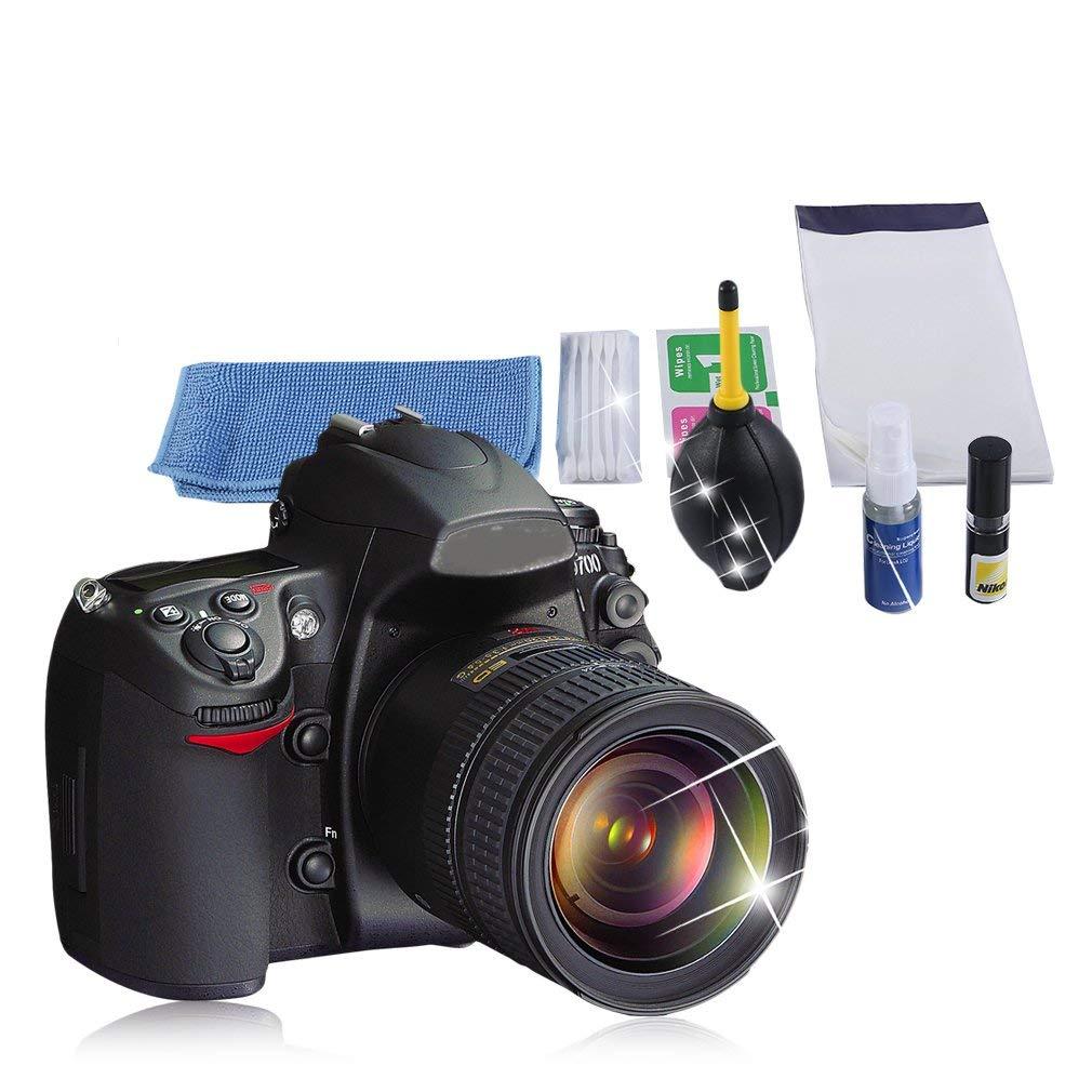 Kit de Limpieza de Lentes 7 en 1 para cámara Digital, Ventilador ...