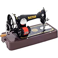 Naveen Sewing Machine New [Automatic + Manual] with [Coverset+ Motor +Accelator+ Accessories] Mega Combo