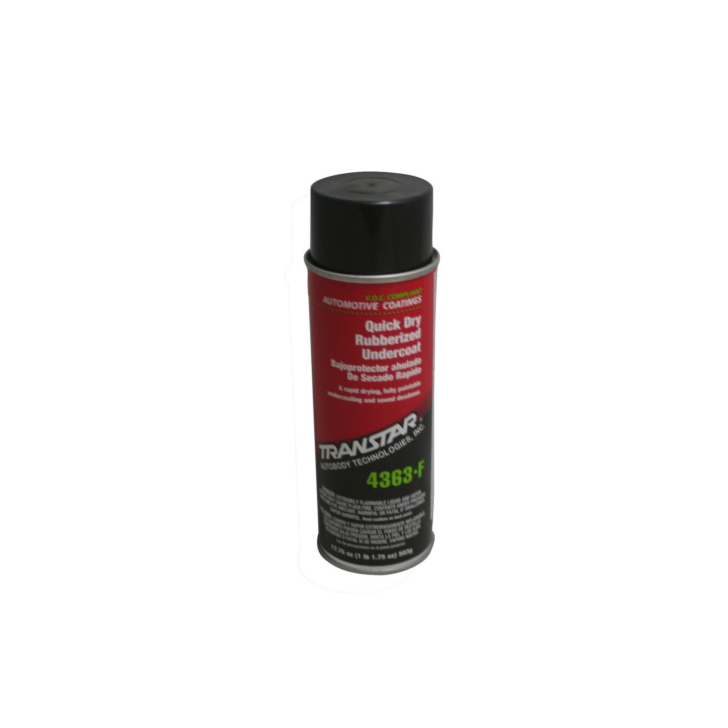 TRANSTAR (4363-F) Quick Dry Rubberized Undercoating - 17.75 oz. Aerosol by TRANSTAR