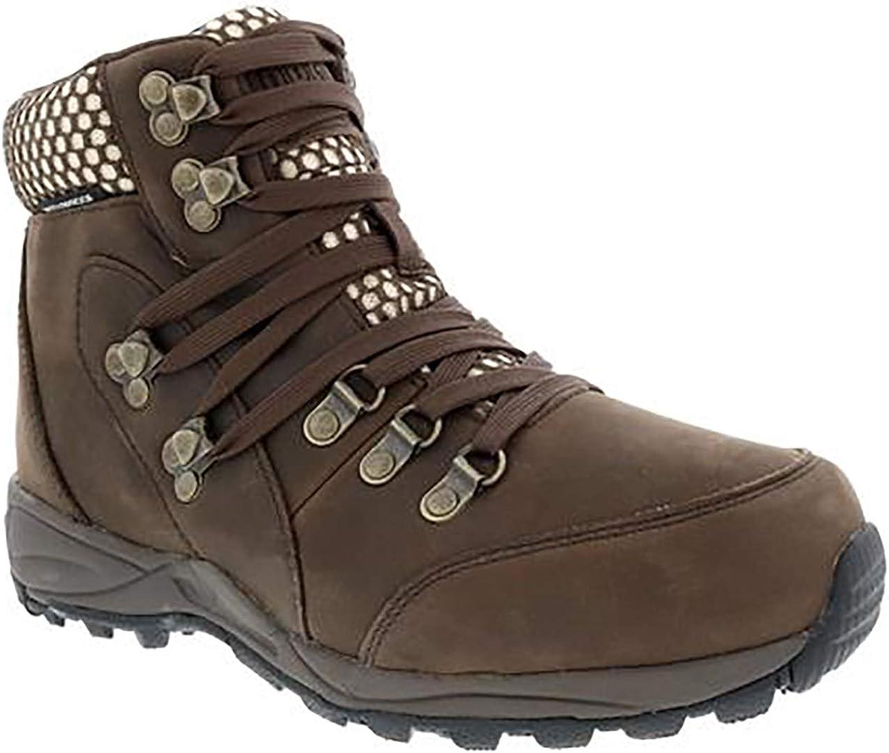 Drew Woman Iceberg 10189 Leather/Mesh Boots