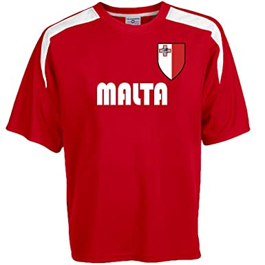 76978bf1755 Amazon.com  Custom Malta Soccer Jersey Personalized with Your Names ...
