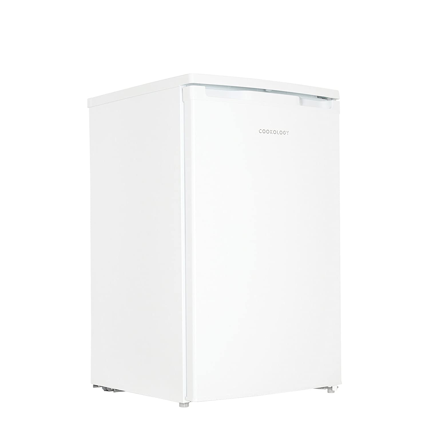 Cookology UCIB98WH 50cm Freestanding Undercounter Fridge & Ice Box in White [Energy Class A+]