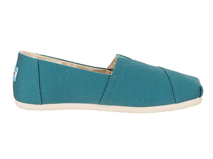 TOMS Womens Classic Canvas Peacock Ankle-High Flat Shoe - 8.5M: Toms: Amazon.es: Zapatos y complementos