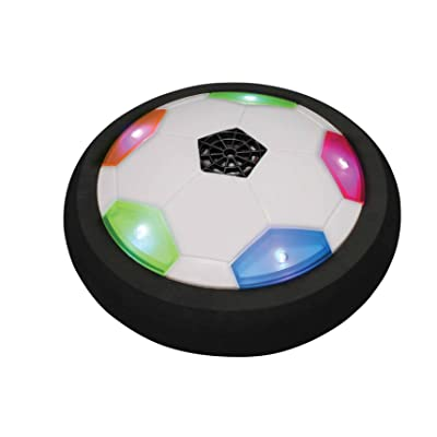 Can You Imagine Air Power Ultraglow Soccer Disk: Toys & Games