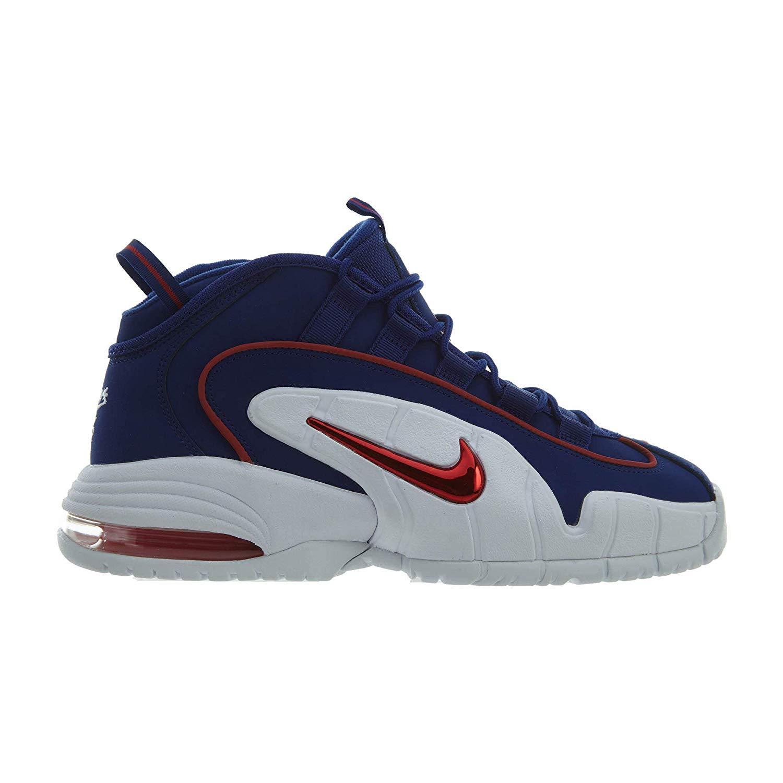 Mehrfarbig (Deep Royal Blau Gym rot Weiß 400) Nike Herren Air Max Penny Basketballschuhe