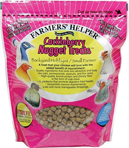 (DPD Farmer's Helper CACKLEBERRY Nugget Treats - 27 Ounce)