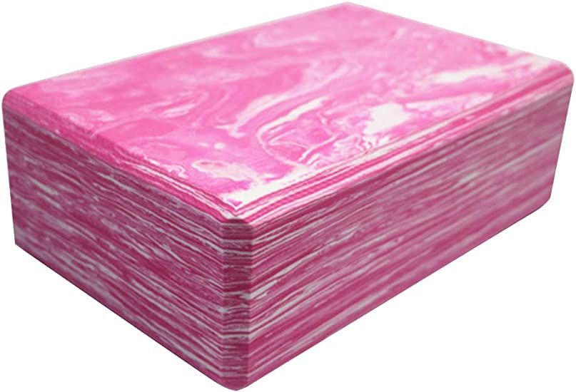 Dual Colour Vibrant and Attractive Design. 1 or 2 pieces Flexibility and Balance - EVA Foam Non-Slip Surface Block for Yoga and Pilates to Improve Strength AW9 Yoga Block