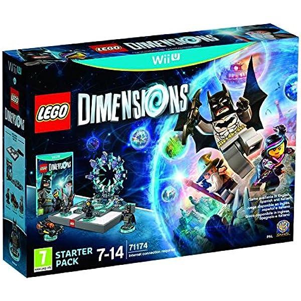 Lego Dimensions Starter Pack - Nintendo Wii U [Importación ...