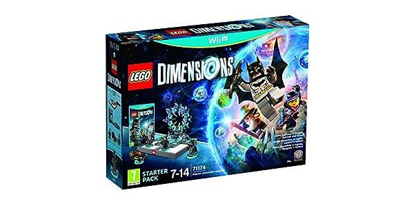 Lego Dimensions Starter Pack - Nintendo Wii U [Importación Italiana]: Amazon.es: Videojuegos