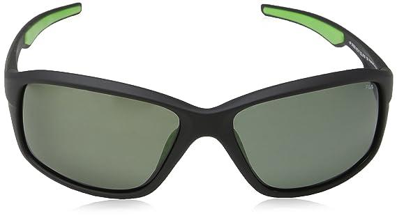 Fila SF9026, Gafas de Sol para Hombre, Gris (Shiny Black), Talla única: Amazon.es: Ropa y accesorios