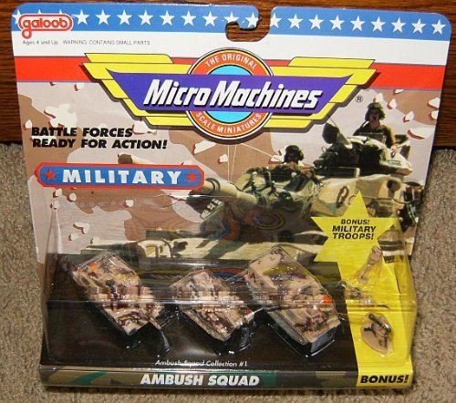 Micro Machines Ambush Squad #1 Military Collection for sale  Delivered anywhere in USA