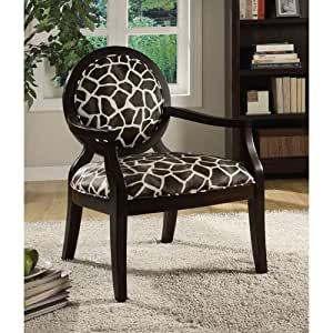 Amazon Com Coaster 900214 Louis Style Accent Chair With