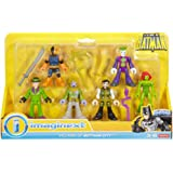 Fisher-Price Friends Imaginext DC Super Villains Action Figure with Slade, Scarecrow, Ras al Ghul