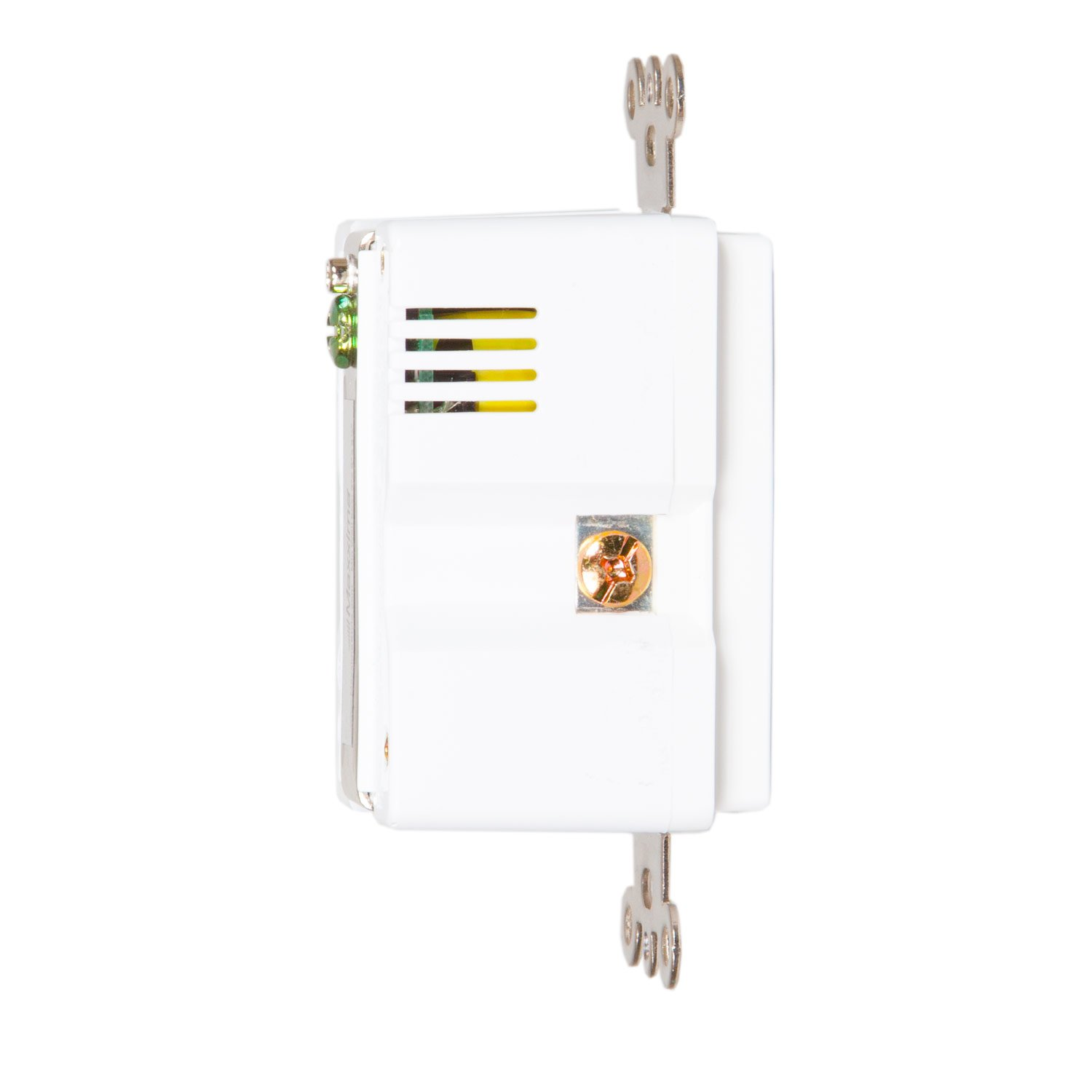 Screw-less Wall Plate Included MEW-USB310 Maxxima 3.1A High Speed Dual Horizontal USB Outlet Charger 15 Amp Duplex Receptacle Tamper Resistant