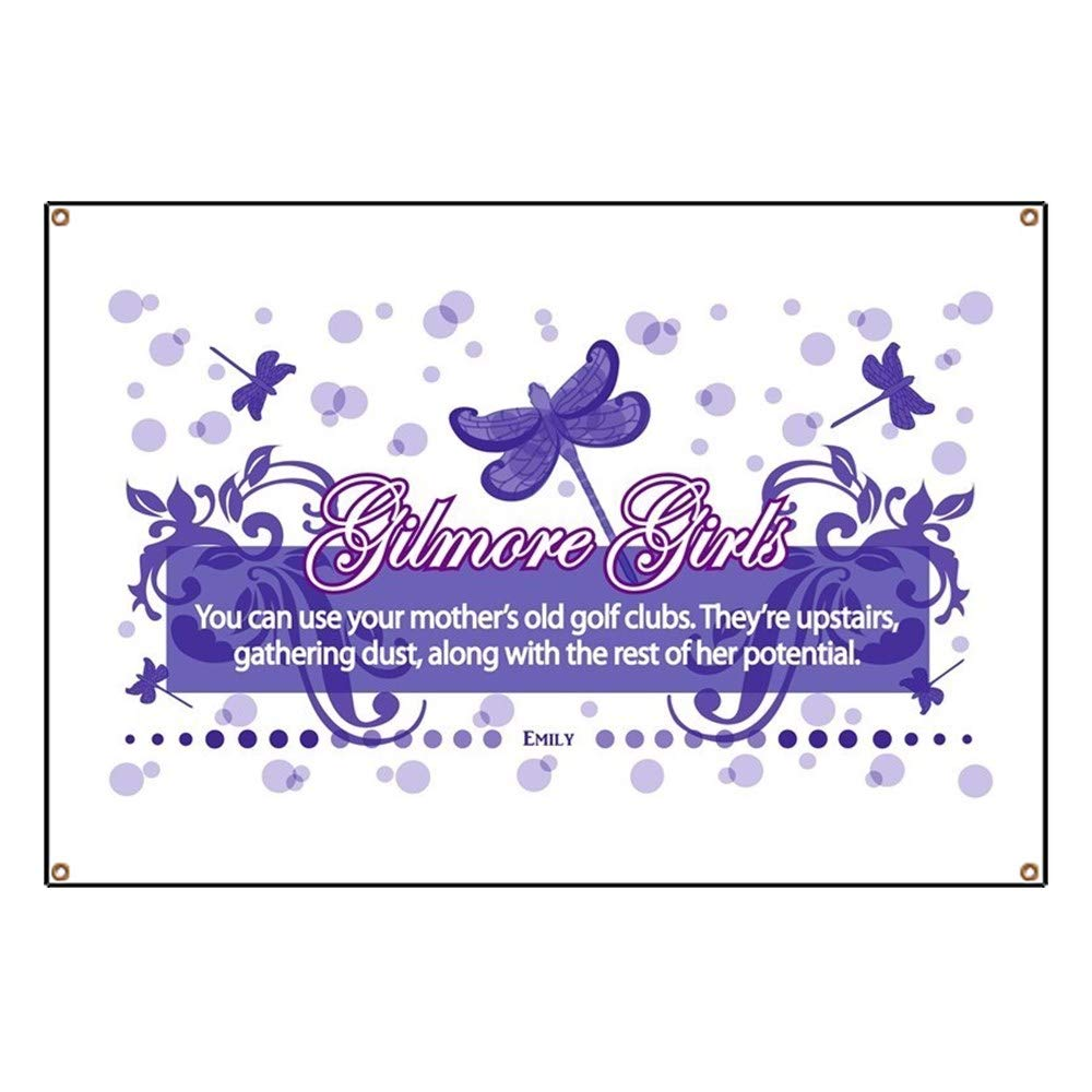 583efc1ee Amazon.com: CafePress Gilmore Girls Emily Quote Vinyl Banner, 44