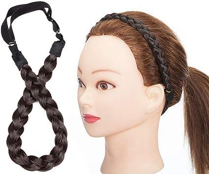 fascia per capelli intrecciata