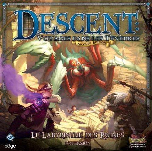 Edge - Descent Seconde Edition : Le Le Le Labyrinthe des Ruines by Descent in the Dark: Labyrinth of Ruin b55366