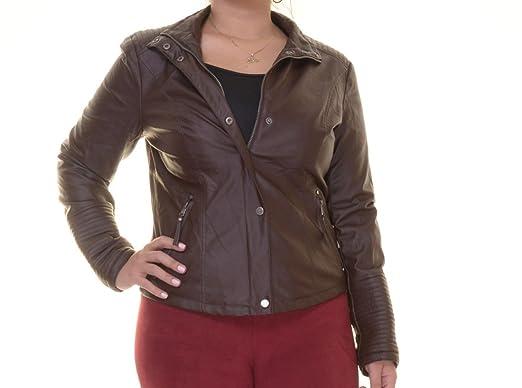 Celebrity Pink Women's Faux Leather Jacket at Amazon Women's Coats ...