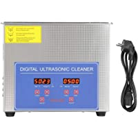 EU Plug 220V 3L Ultrasonic Cleaner Digital Ultra Sonic Cleaning Machine Timer Setting Stainless Tank for Jewelry Glasses…