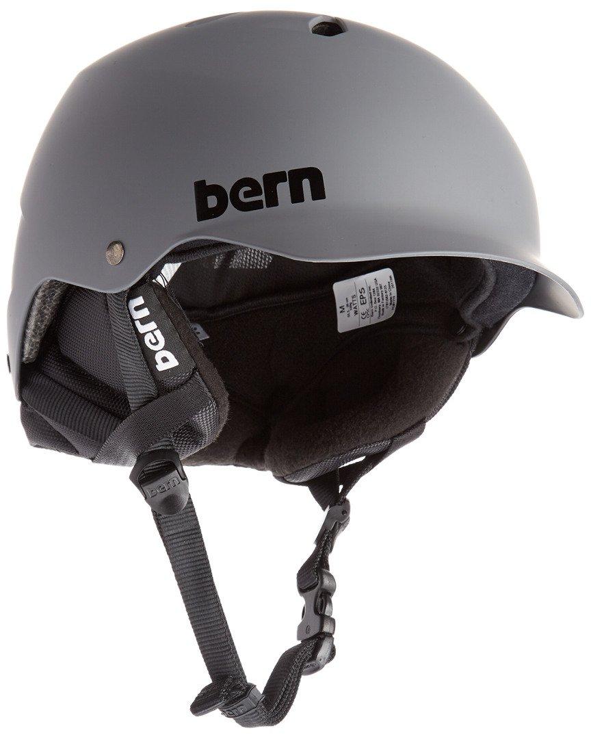 Bern Watts Eps Matt Grey W/Kurbel-Fit Helm L