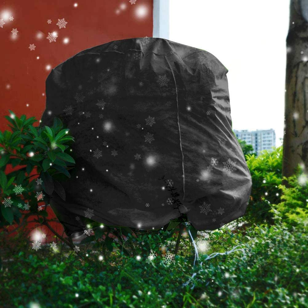 SmallPocket Pflanzen Winterschutz Frostschutz K/übelpflanzensack Winterschutzhaube Pflanzenabdeckung Winter Frostschutz Schutzhaube Mit Zugband Winterschutz F/ür Pflanzen