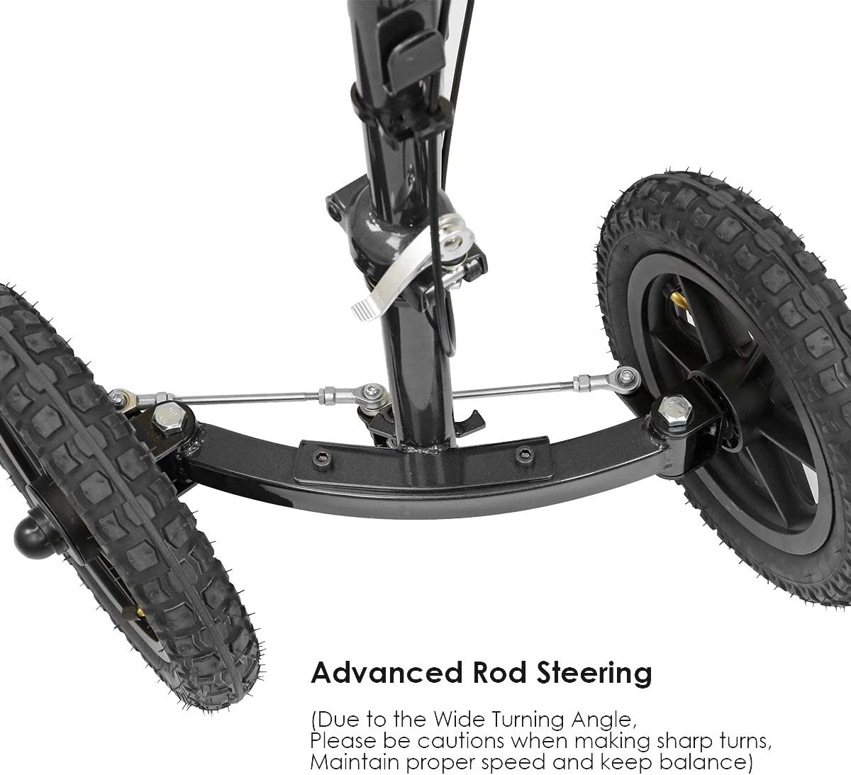 Amazon.com: Clevr patinete de rodilla con suspensión y ...
