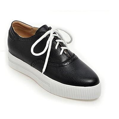 Mme chaussures printemps et d'automne chaussures épaisses muffin croûte chaussures en dentelle dames chaussures , US5.5 / EU35 / UK3.5 / CN35