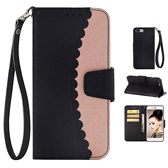 new arrivals 3c39a a561b Amazon.com: iPhone 8 Plus Case and Wallet Leather Cover,iPhone 7 ...