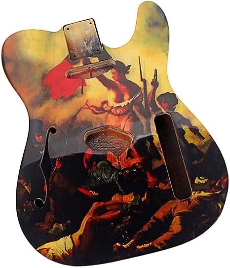 H HILABEE Cuerpo De Guitarra Inacabado, Cuerpo De Guitarra ...