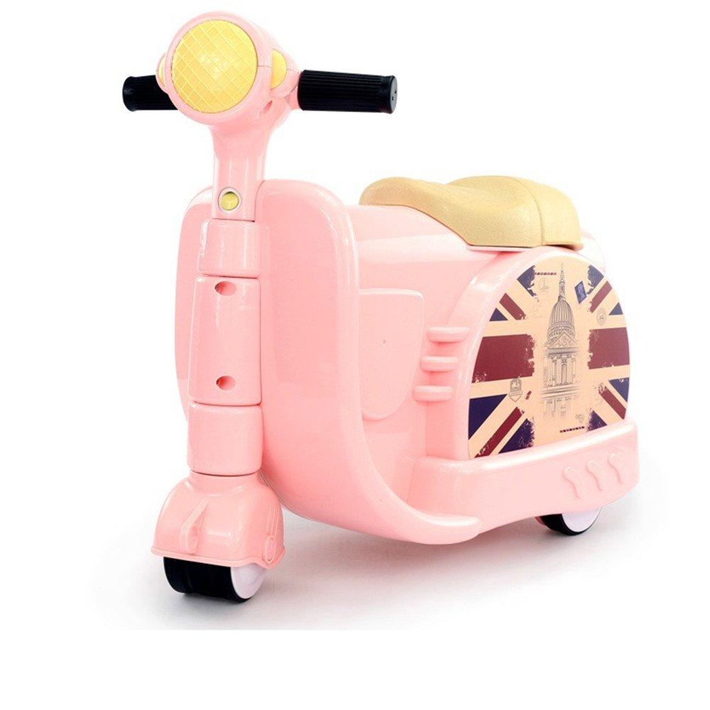 Scooter Mädchen - Cherlvy Koffer Scooter