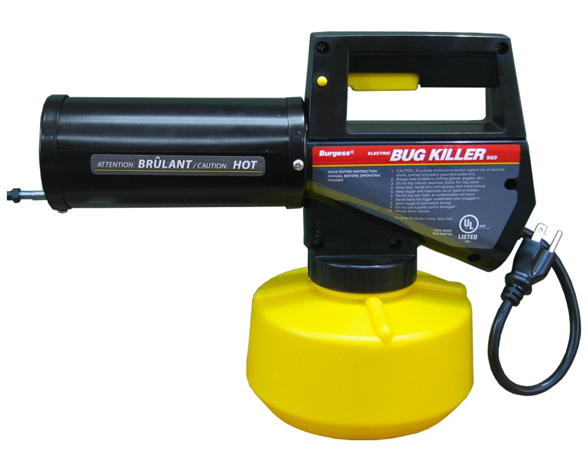 Burgess 960 Electric Insect Fogger is mostly used by most professionals to kill mosquitos that are carrying the virus that is West Nile