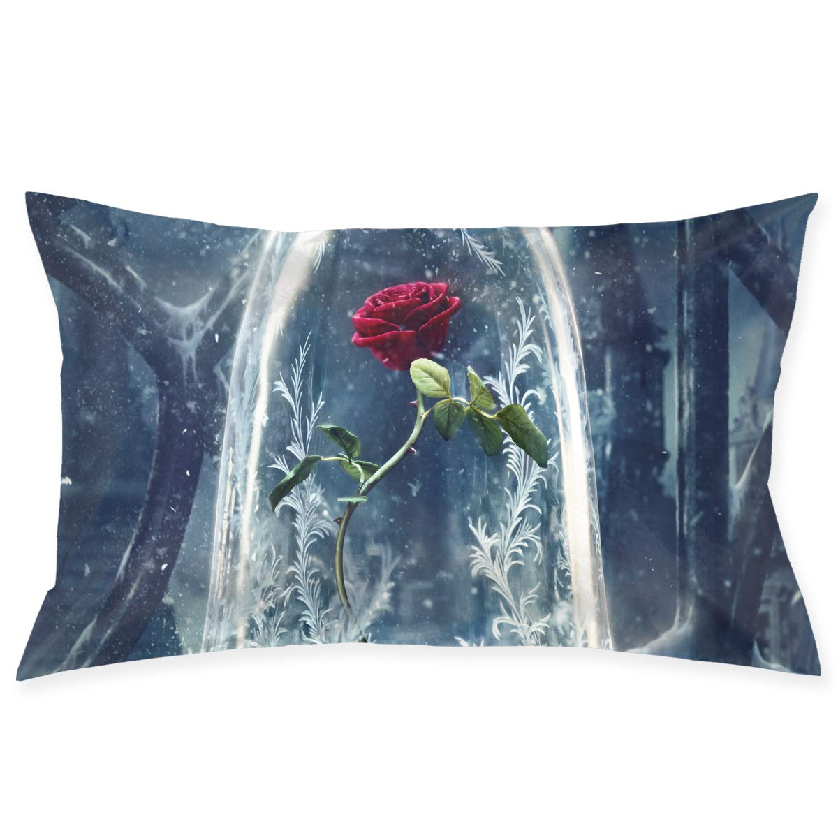 Magnificent Amazon Com Slk Beauty The Beast Couch Pillow Case Cushion Forskolin Free Trial Chair Design Images Forskolin Free Trialorg