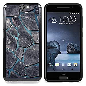 "Qstar Arte & diseño plástico duro Fundas Cover Cubre Hard Case Cover para HTC One A9 (Minimalista Beautiful Nature Adoquinado"")"