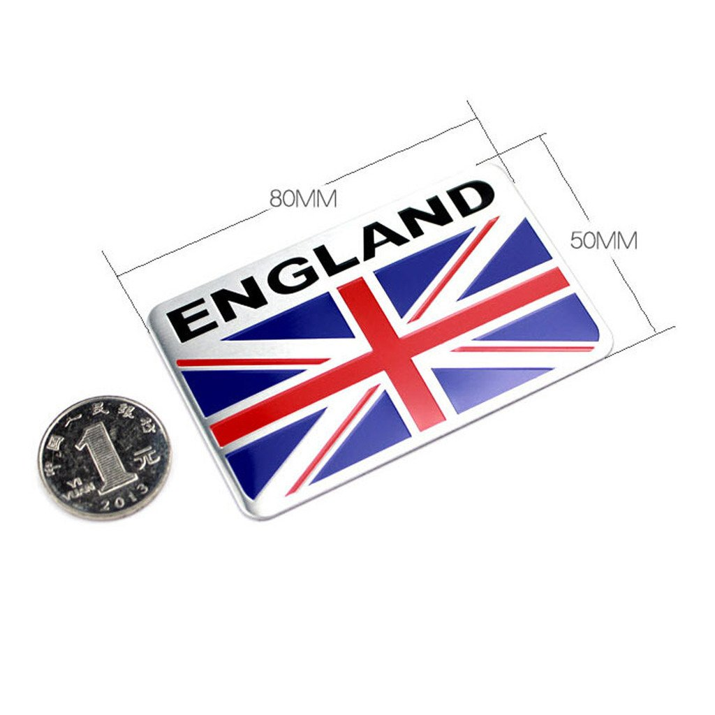 EHAO Generic Car Racing Sports Italy Flag Oblong Emblem Badge Decal Sticker