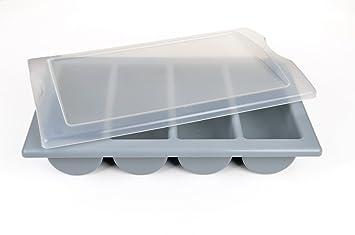 Gräwe - Cubertería en maletín con vacío tapa 4 compartimentos cumple con la restauración estándar 1/1: Amazon.es: Hogar