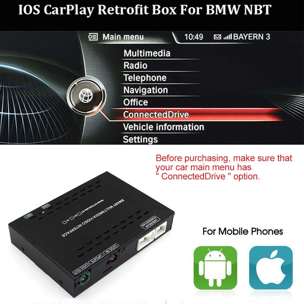 Amazon com: Carplay Android Auto Mirroring for BMW Mini/X1/1