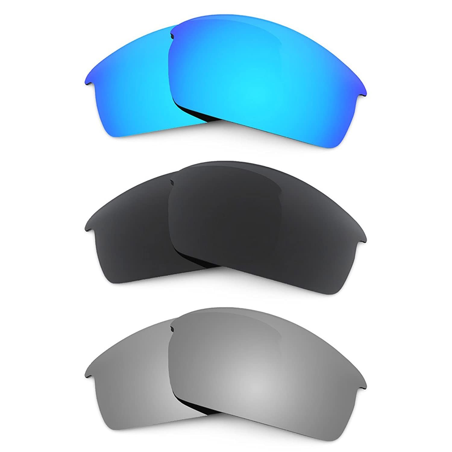 535b15aa34 Amazon.com  Revant Replacement Lenses for Oakley Bottlecap 3 Pair Combo  Pack K015  Clothing