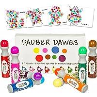 8-pack Washable Dot Markers / Bingo Daubers Dabbers...
