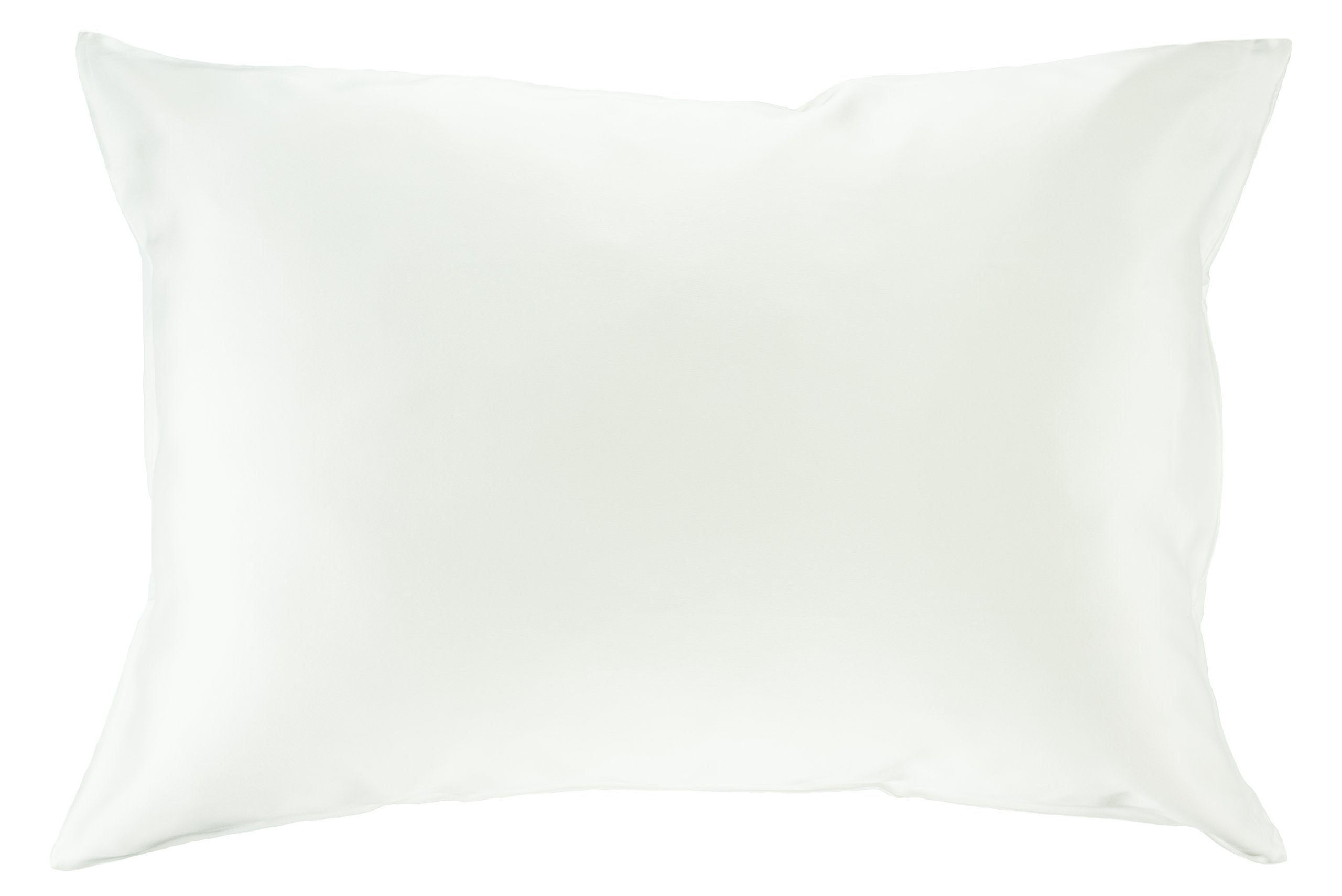 100% Silk Pillowcase for Hair Luxury 25 Momme Mulberry Silk, Charmeuse Silk on Both Sides -Gift Wrapped (King, White)