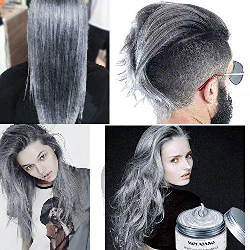 Coloration temporaire cheveux pour homme