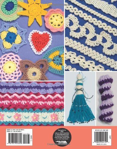 Crochet Embellishments Leisure Arts 4419 Rita Weiss Creative