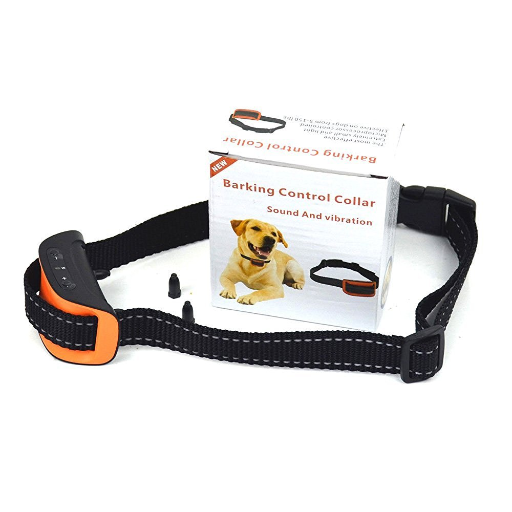 FONPOO FP665V Dog No Bark Collar for Bark Control with Harmless Warning Sound
