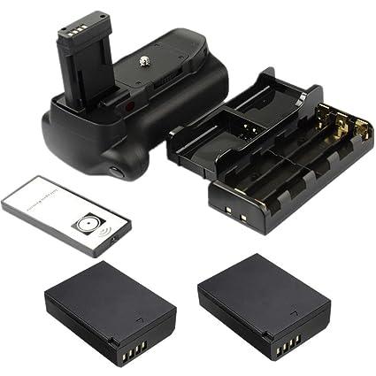Agarre de batería para cámara réflex Canon EOS 1100D 1200D 1300D ...