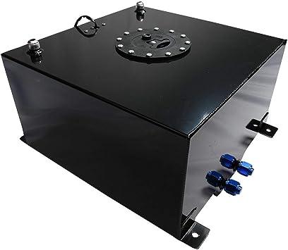 Red Aluminum 10 Gallon OEM Fuel Cell Tank /& Level Sender Hot Rod Rat Rod V8