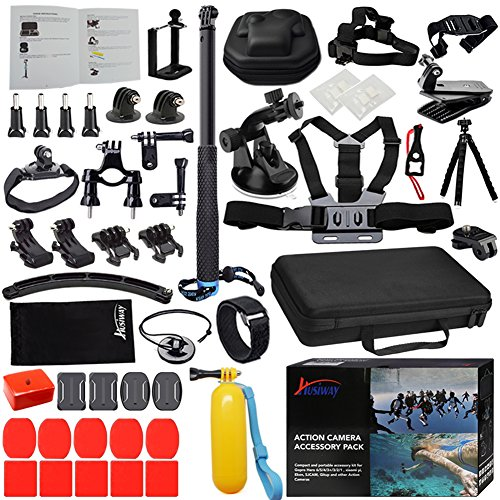 Husiway Accessories Kit for Gopro Hero 5 Session, Hero for sale  Delivered anywhere in USA